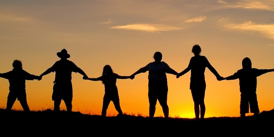 5 People Holding Hands
