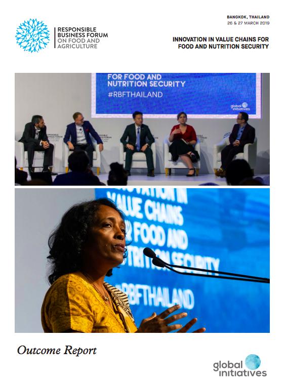 Responsible Business Forum 2019 | Food & Agriculture | Bangkok